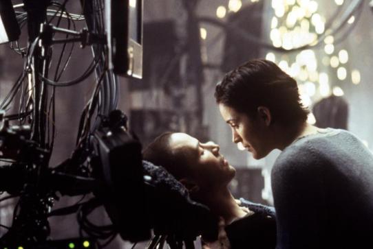 MATRIX, Keanu Reeves, Carrie-Anne Moss, 1999